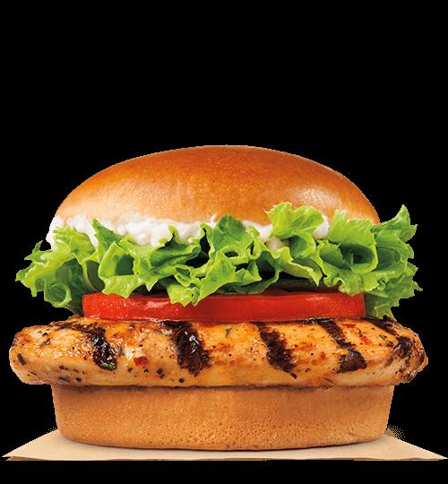 Burger King Premium Chicken Sandwich Grilled: calories..